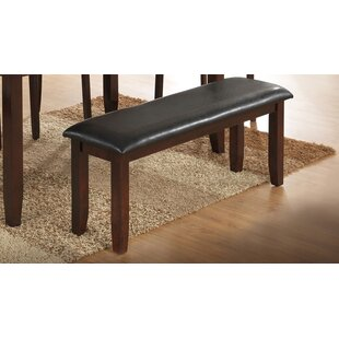 Red Barrel Studio Thorson Faux Leather Bench