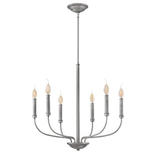 Gracie Oaks Kieu 6-Light Chandelier
