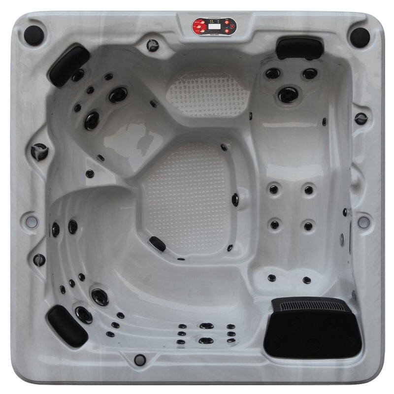 Toronto 6-Person 44-Jet Spa with Waterfall