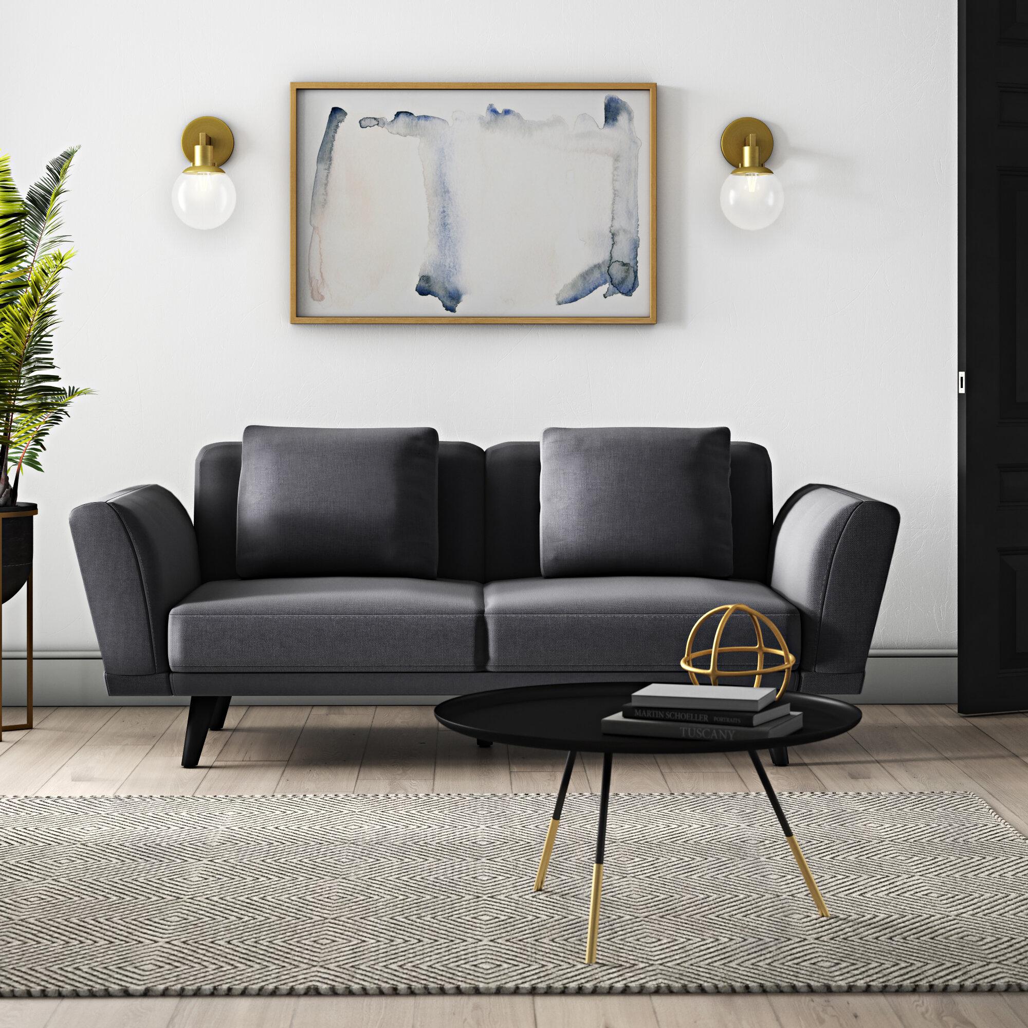 Mercury Row Marshal Mid Century 2 Seater Sofa | Wayfair