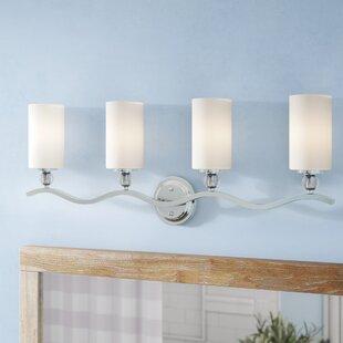 Buying Bibeau 4-Light Vanity Light By Lark Manor
