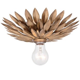 Rochelle 1-Light Semi Flush Mo..