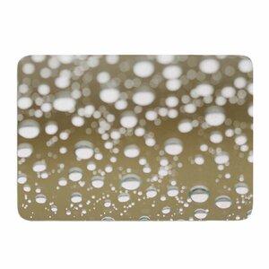 Neutral Rain by Kristi Jackson Memory Foam Bath Mat