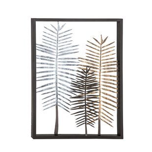 Leaves Iron Wall Decor