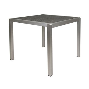 Germania Anodized Aluminum Dining Table