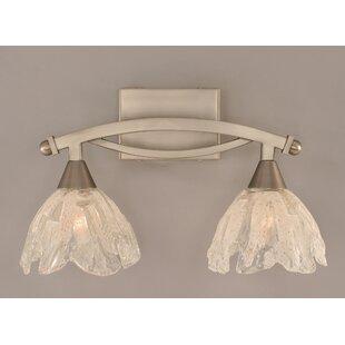 Fleur De Lis Living Blankenship 2-Light Vanity Light