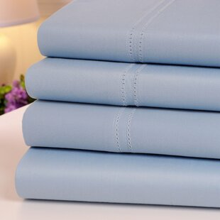 Oxford 1000 Thread Count Hemstitch Egyptian Quality Cotton Sheet Set
