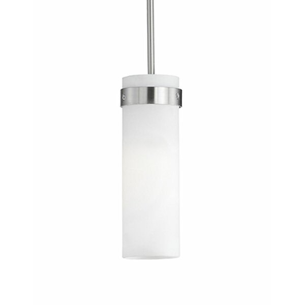 Radionic Hi Tech Rowley 1 Light Single Cylinder Pendant Wayfair