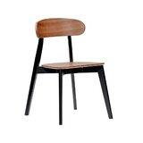 Drennan Solid Wood Side Chair in Walnut (Set of 2) by George Oliver
