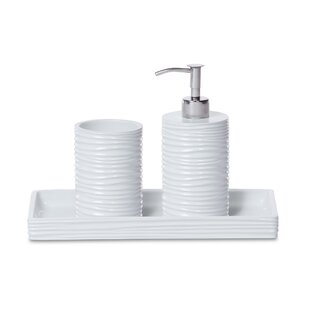 Purchase By the Sea 3 Piece Bathroom Accessory Set ByRoselli Trading Company
