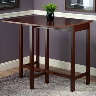 Bettencourt 3 Piece Counter Height Solid Wood Dining Set