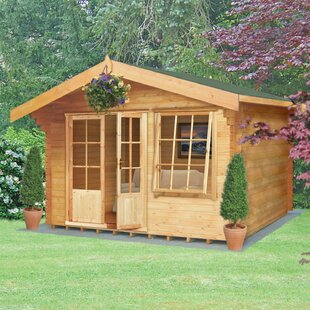Hartland 12 X 10 Ft. Tongue And Groove Log Cabin By Sol 72 Outdoor