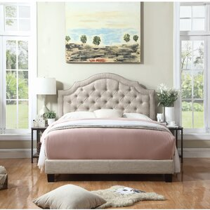 Julia Upholstered Panel Bed by Andover..