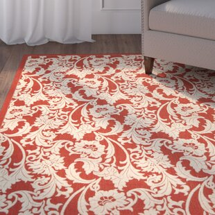Herefordshire Red / Creme Indoor/Outdoor Area Rug