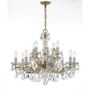 House of Hampton Milan 12-Light Chandelier