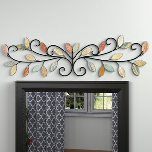 Beau Wood Leaves Over The Door Wall Décor