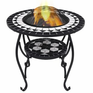 Bindu Steel Charcoal And Wood Burning Fire Pit By World Menagerie