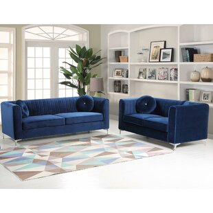 Mercer41 Engel 2 Piece Living Room Set