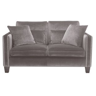 Compare prices 5West Cathedral Loveseat by Sunpan Modern Reviews (2019) & Buyer's Guide
