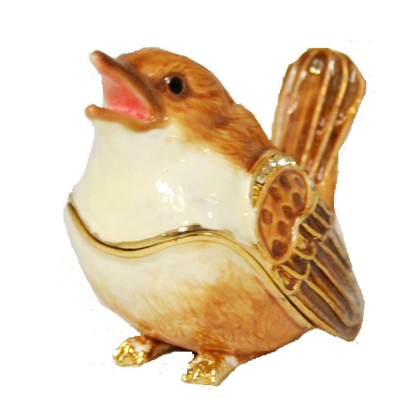 Ciel Collectables Small Sparrow Bird Trinket Box Wayfair