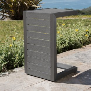 Crosstown Aluminum End Table