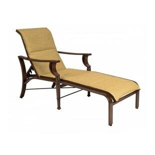 Woodard Arkadia Reclining Chaise Lounge