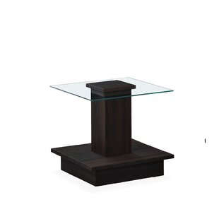 Reviews Chalker 3D End Table by Orren Ellis