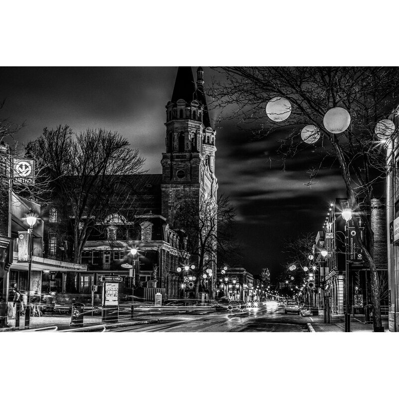 Designart Montreal Old Town Church Photographic Print On Wrapped Canvas Wayfair