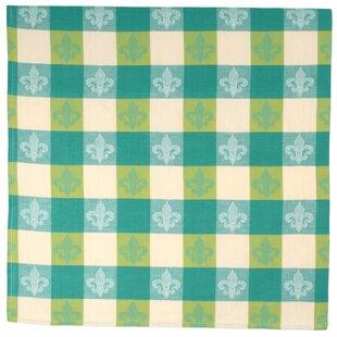 Fleur De Lis 100% Cotton Jacquard Tablecloth