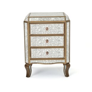 Cheshire Mirrored 3 Drawer Cabinet