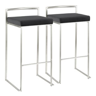 Gary Bar & Counter Stool (Set of 2) by Wade Logan