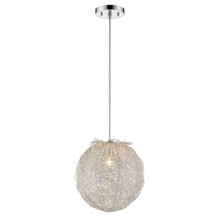 Barclay 1-Light Pendant by Orren Ellis