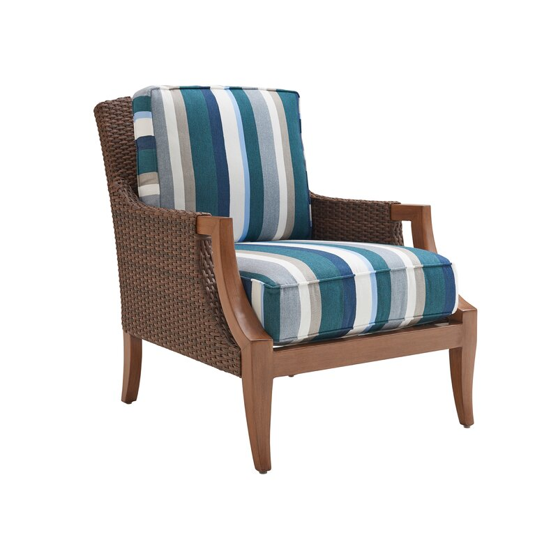 Tommy Bahama Outdoor Harbor Isle 5 Piece Deep Seating Group With Cushions Perigold