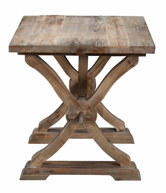 Canterbury Reclaimed Wood End Table
