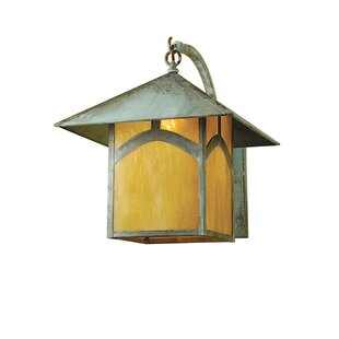 Coupon 1-Light Outdoor Wall Lantern By Meyda Tiffany