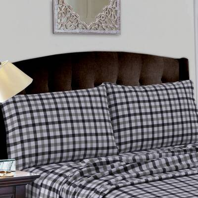 Tribeca Living Flannel Solid Extra Deep Pocket Sheet Set Reviews