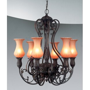 Eurofase Richtree 6-Light Shaded Chandelier