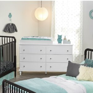 Rowan Valley Laren 6 Drawer Dresser Combo