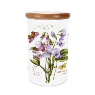 Botanic Garden Sweet Pea 1.62 Kitchen Canister by Portmeirion Wonderful