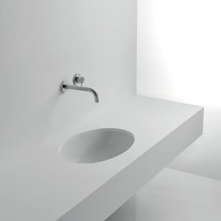 Reviews Gardenia Ceramic Oval Undermount Bathroom Sink By WS Bath Collections