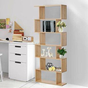 Susann Geometric Bookcase by Wrought Studio