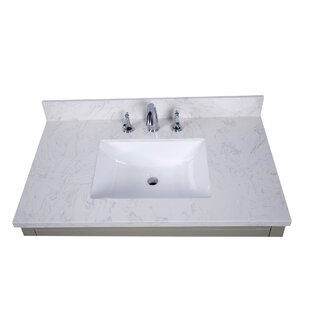 Lucca 37 Single Bathroom Vanity Top