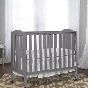 Portable Folding Crib by Dream On Me