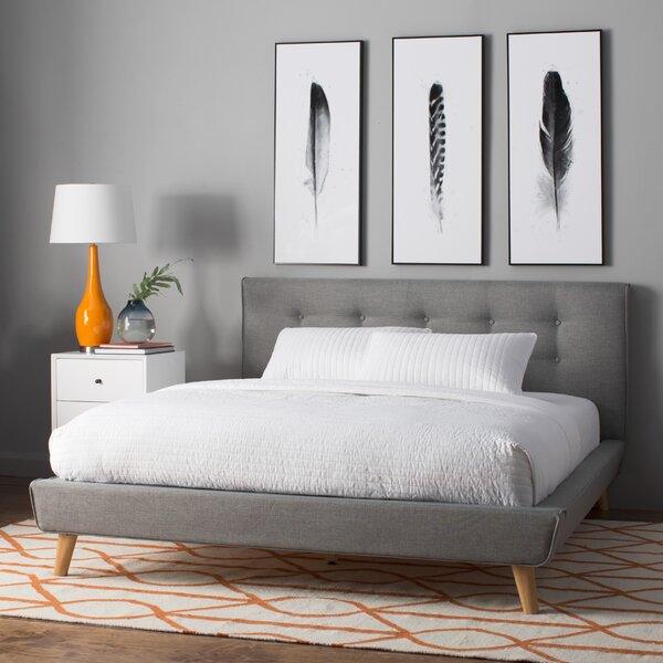 Best Mid Century Modern Beds, Modern Platform Beds, Rasmussen Upholstered Platform Bed