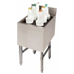 Stainless Steel Insulated Bottle Storage Bar Cabinet