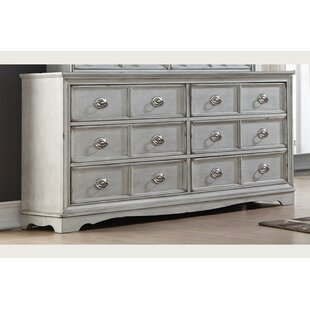 Silverview 6 Drawer Double Dresser by Ophelia & Co. Bargain
