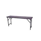 Shantel Folding Wooden Side Table