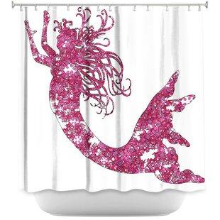 Harriet Bee Bellingham Mermaid Shower Curtain