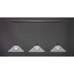 Red Barrel Studio Balance 3-Light Kitchen Island Pendant