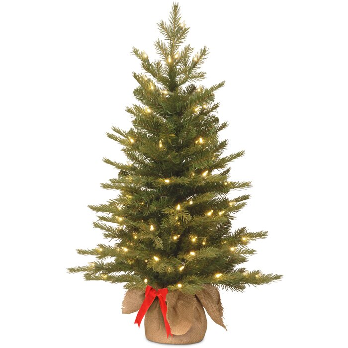3ft White Christmas Tree.Nordic 3ft Green Spruce Artificial Christmas Tree With 50 Warm White Lights With Stand